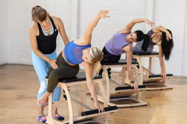 Pilates instructor training Stepney