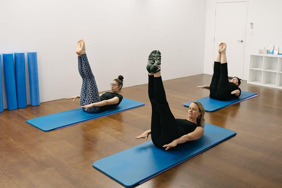 Pilates mat instructor training Stepney